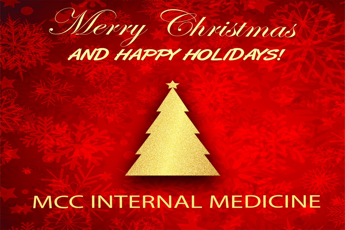 MCC Internal Medicine Holiday Hours