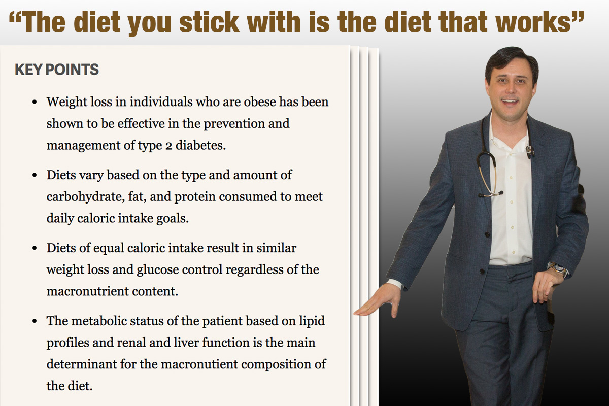 Dr. Jeremiah McClure Ideal Diet