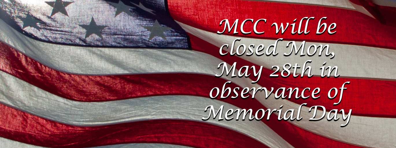 Memorial Day Closed 2018